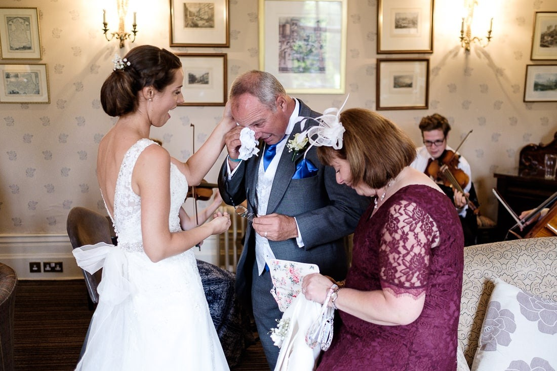 emotional father of the bride