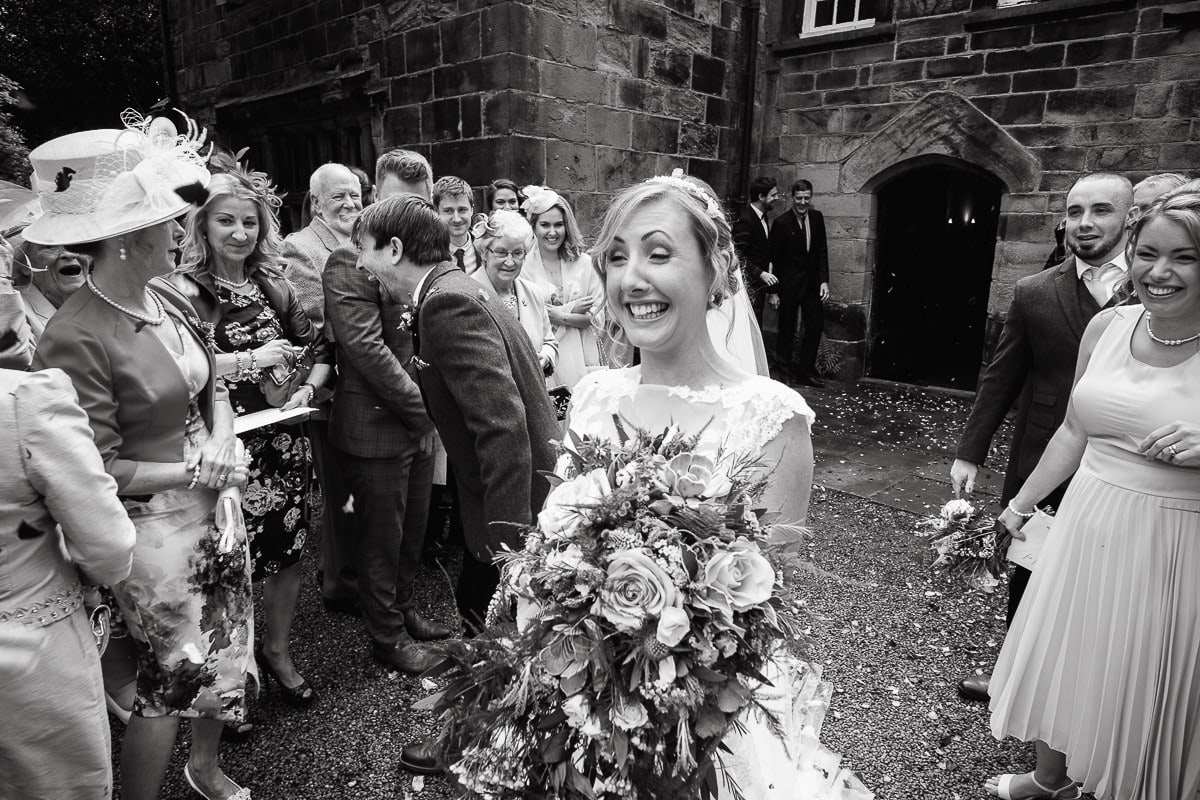 Oakwell Hall Wedding Nicola & Andy more confetti